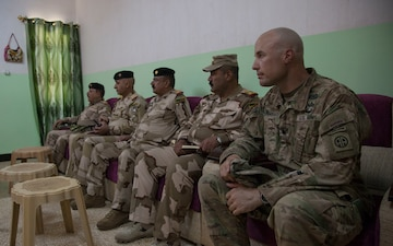 Commanding General Meets with ISF and Coalition Forces