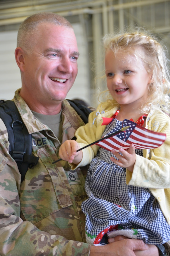 New York Army National Guard Soldiers return from Kuwait/ Iraq