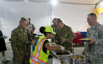 Ragin' Cajuns feed First Responders