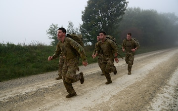USAREUR Best Sniper Competition Day 4 Ruck March