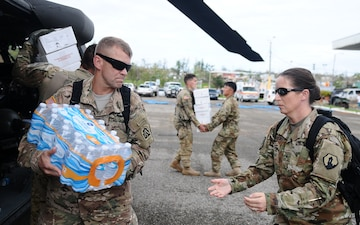 The mission in Puerto Rico: Army North leads the way for Department of Defense