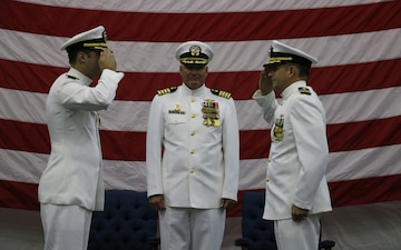 Svatek Assumes Command of Fleet Survey Team