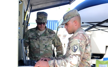 35th Expeditionary Signal Battalion fields new communication equipment