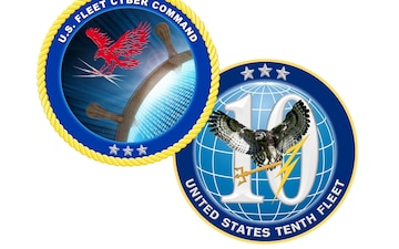 U.S. Fleet Cyber Command/10th Fleet Holds Change of Command