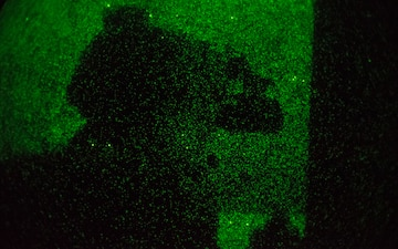 Maritime Raid Force Moves through the Shadows during Night Raid
