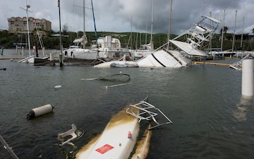 Salvaging boats, protecting the environment: The aftermath of Hurricane Maria