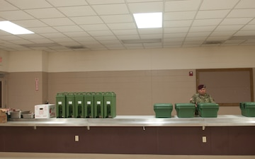 Food Services Provides Sustainment for Toy Drop
