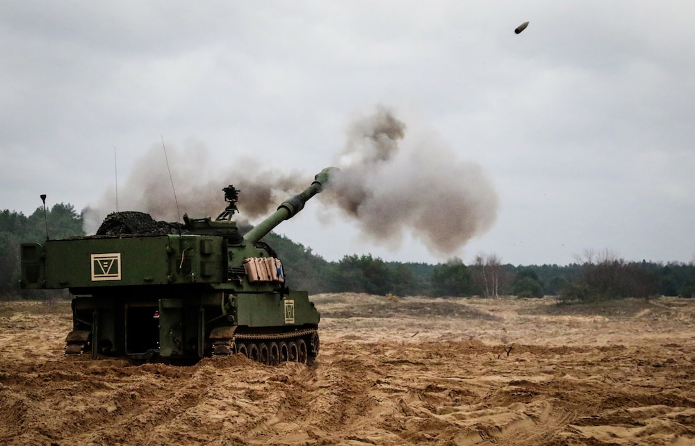 1-7 Field Artillery Battery Qualifications in Poland