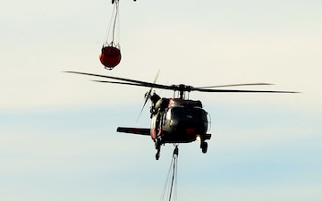 SoCal Fires: Cal Guard continues fighting Thomas Fire