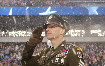 The Pink & Green Service Dress Uniform Made It's National Debut at the 2017 Army-Navy Football Game