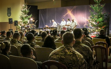 Christmas Concert for Deployed Soldiers in Poland