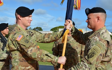 'Broncos' hold change of responsibility for senior NCO