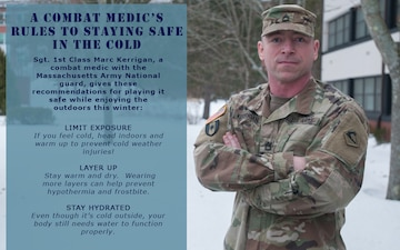 A combat medic's rules to staying safe in the cold