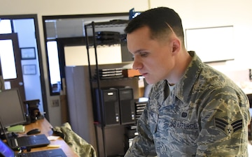 166th Communications Airman is 'Diamond Sharp' in Germany