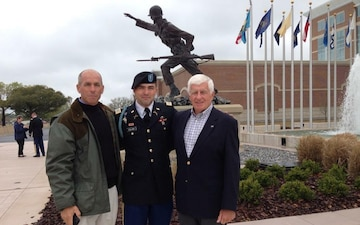 Same mission, different generations: 1st SFAB officer follows in grandfather's footstep