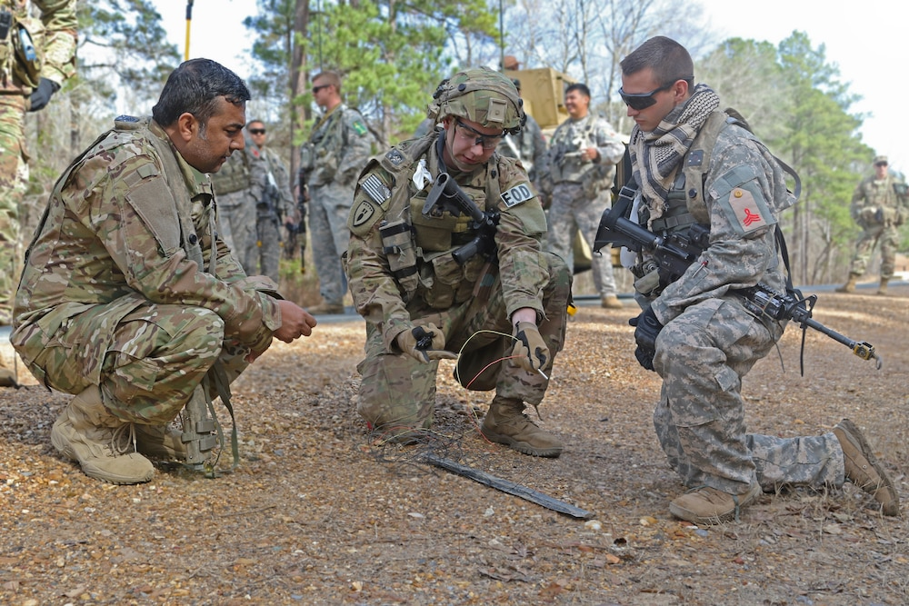 1st SFAB EOD specialists prepare for upcoming deployment at JRTC