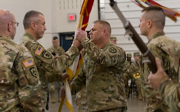 111th Engineer Brigade Change of Command