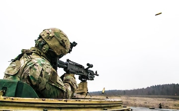 299th BSB Conducts Live-Fire Training in Grafenwoehr