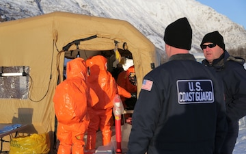 Alaska National Guard's exercise Arctic Eagle tests radiological response in Valdez