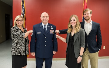 Rivers promoted to Chief Master Sergeant
