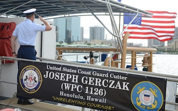 Coast Guard commissions Hawaii's second Sentinel-class cutter