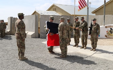 1st SFAB uncases colors, begins partnership with ANDSF across Afghanistan