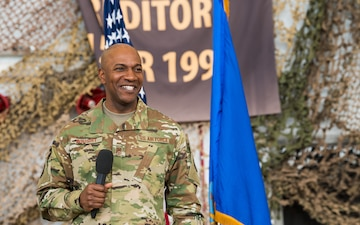 CMSAF holds all call at Cannon AFB