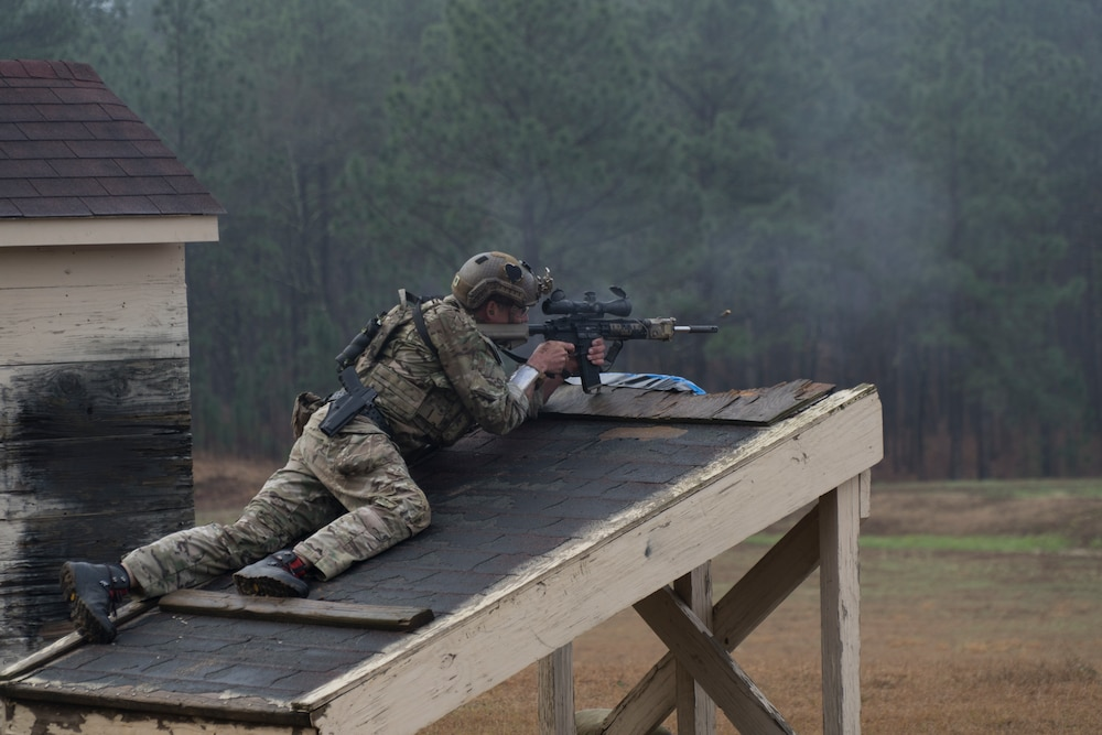 1st Group takes 1st Place in Special Operations sniper competition