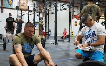 Master sergeant ranks up in CrossFit competition