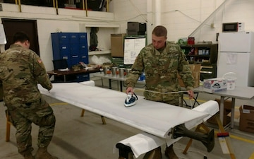 Preserving History: Destiny Soldiers Repair Historic Glider