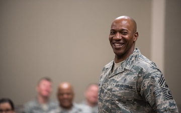 CMSAF Wright speaks to AF SEL Conference