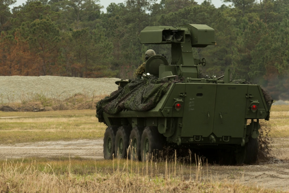 2nd LAR Battalion LAV-AT Live Fire Training