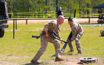 David E. Grange Jr. Best Ranger Competition Day Two