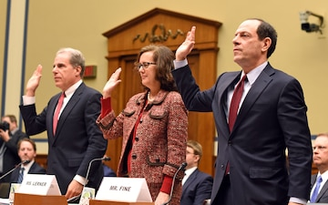 DoD IG Testifies in Hearing About Top Management Challenges