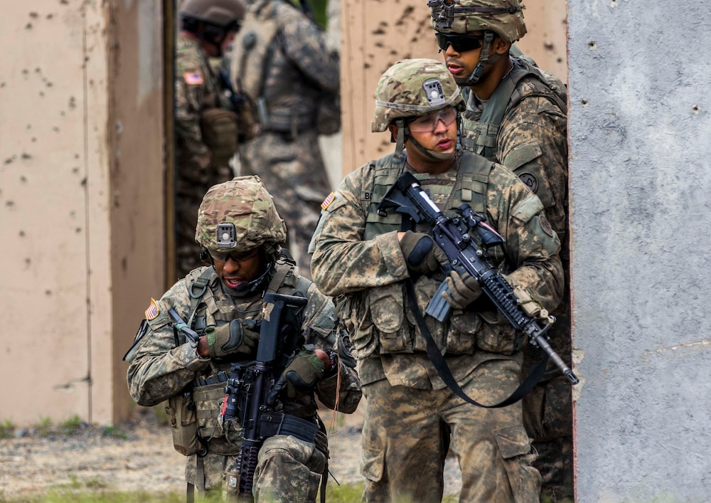 NY National guard Soldiers at JRTC