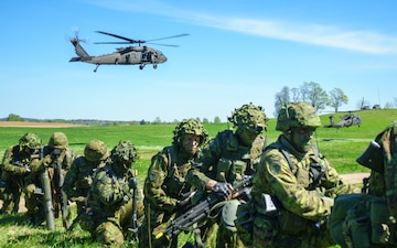 Air Cav partners with Estonia during Operation Hedgehog