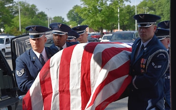 Air Force Col. William E. Campbell Funeral