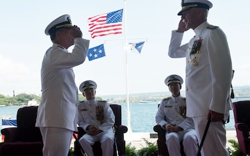 Commander of U.S. Pacific Fleet Change of Command and Retirement Ceremony