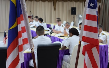 7th Fleet staff participate in U.S.-Malaysia bilateral Fleet Staff Talks