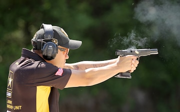 Tacoma, Washington native competes in international pistol competitions