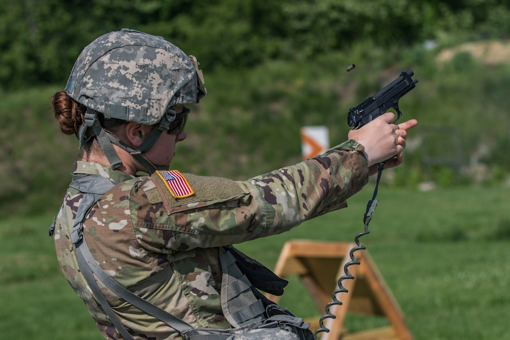 NY National Guard Soldiers, Airmen test shooting skills