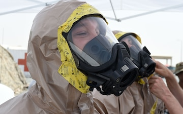 Emergency management responds to simulated chemical threat