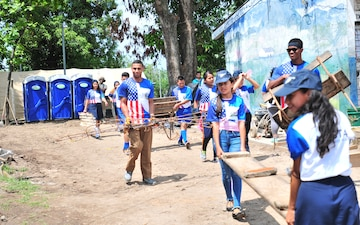 Task Force Hope attended Friendship Day celebration in El Salvador