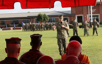 Marine Corps Logistics Command welcomes new commanding general