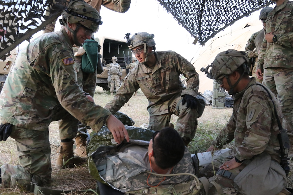 'Devils' run the Gauntlet: Aerial and ground medical training improves combat readiness