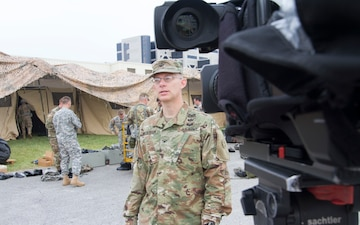 643rd RSG hosts local media
