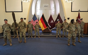 7221st Medical Support Unit assumes command of the Deployed Warrior Medical Management Center mission in Germany