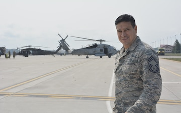 Alpena airfield manager duals as subject matter expert in Michigan-Latvia partnership