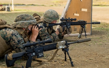 Americas's Battalion fire the M27 IAR and M28 DMR