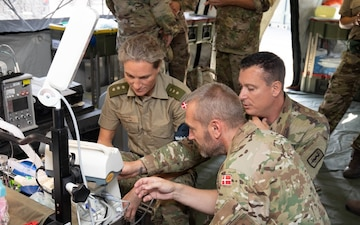 U.S., Danish allies train to enhance readiness, interoperability